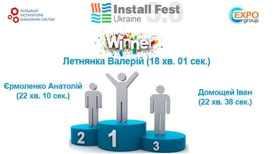 Результаты второго дня Международного фестиваля «Install Fest Ukraine 3.0»