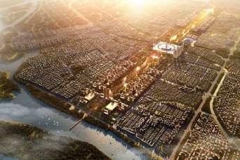 Знаменитые архитекторы чертят план нового города