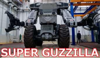В Японии создан робот «Супер-Годзилла» для сноса зданий. Видео