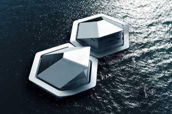 Sony придумала жилье на воде