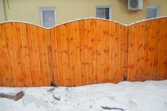 Можно ли строить забор зимой