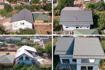 В Краматорске покрывают крыши инновационной металлочерепицей