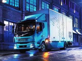 Volvo выведет на рынок коммунальные электрогрузовики