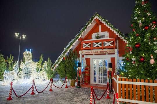 Приколы: как построить своими руками домик Деда Мороза. Фото