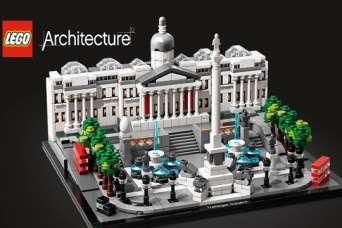 Трафальгарская площадь выйдет в масштабе Lego