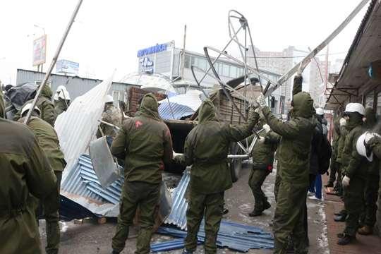 Киев не справляется со сносом всех незаконных киосков