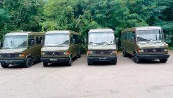 Винницкая бригада территориальной обороны получила микроавтобусы Mercedes-Benz