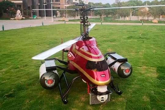 В Китае создали дрон для тушения лесных пожаров