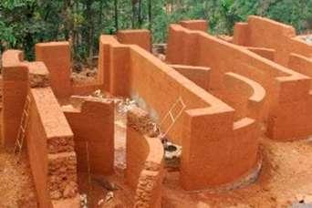 Возродился старинный забытый строительный материал – землебит