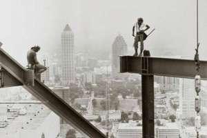 Самые бесстрашные монтажники-высотники 20-го века. Часть 2. Фото