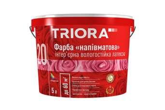 Напівматова фарба TRIORA: блискучий матеріал для роботи в інтер'єрі