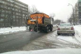 Дорожное строительство в Киеве остановилось