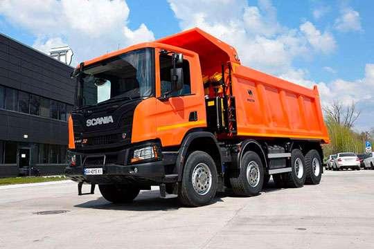 Scania реализовала новый самосвал для тяжелых условий