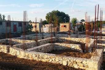 Как сделать фундамент дома из природного камня: бутовый цоколь