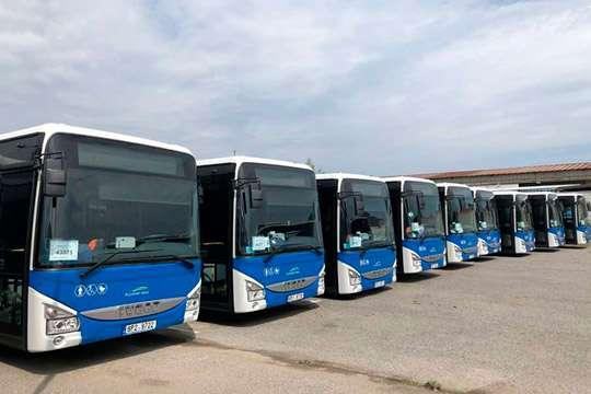 IVECO поставила большой транспортной компании 145 новых автобусов