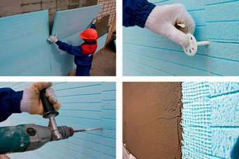 Как теплоизолировать стены с пустотами