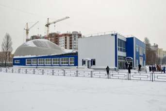 Под Киевом обвалился новый спорткомплекс