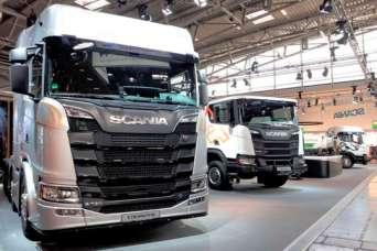На Bauma-2019 показали грузовики на растительном масле