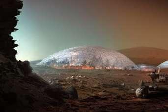 Бьярке Ингельс испытает жизнь на Марсе