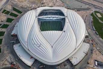 Катар построил первый стадион к ЧМ-2022
