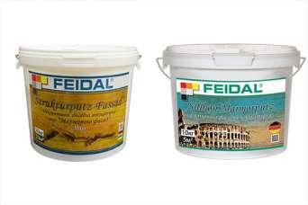 Feidal представляет фасадные штукатурки для сезонных работ
