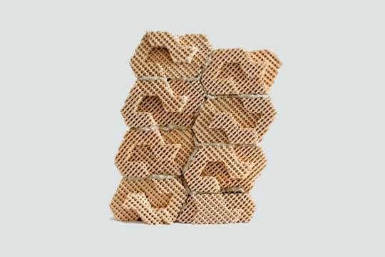 Появился новый строительный материал: 3D-напечатанный кирпич с охлаждением