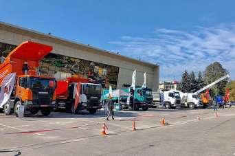 Scania представила на выставке Mining World-2019 новейшие самосвалы. Фото