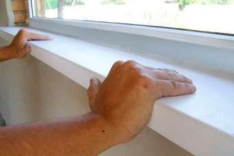 Как установить пластиковый подоконник на ПВХ-окна