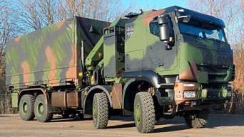 Армия Германии заказала большую партию грузовиков IVECO