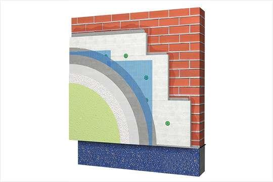 На рынке представлен полный комплекс для систем фасадной теплоизоляции