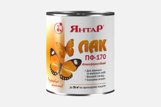 Коростеньский завод «Янтарь» выпустил атмосферостойкий лак