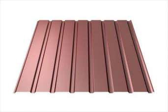 Какая сталь используется для металлочерепицы Ruukki с низким профилем: модель T15