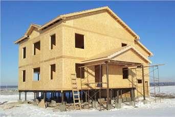 Строительство дома по канадской технологии. Видео
