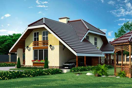 Что представляет из дом в стиле «термо»