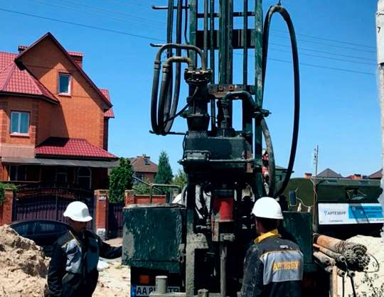 Стоимость бурения скважин по Киеву и Киевской области