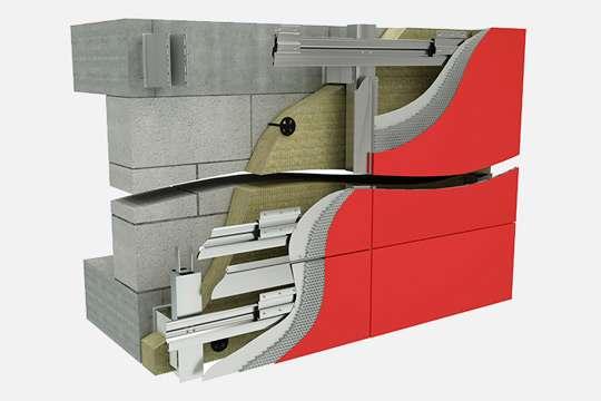 Разработана новая система для навесных вентилируемых фасадов