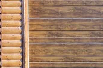Оздоблюємо фасад будинку дерев'яним сайдингом