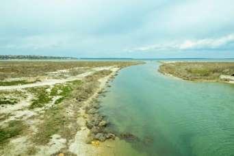 Пересыхающий канал в Черное море починят