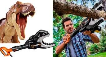 Курьезы: изобретен новый инструмент - пила-тиранозавр. Видео