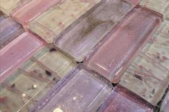 Стеклянная плитка: плюсы и минусы. Фото и видео