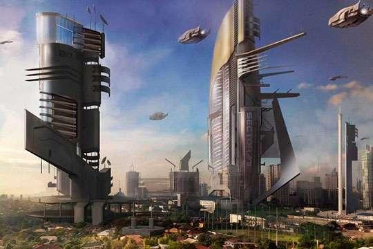 В Саудовской Аравии построят «Город будущего».  Видео