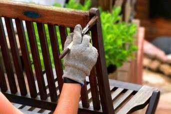Дерев'яні крісла для балкону власноруч