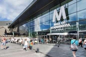 Как выглядит крупнейший скандинавский ТРЦ Mall of Scandinavia. Фото