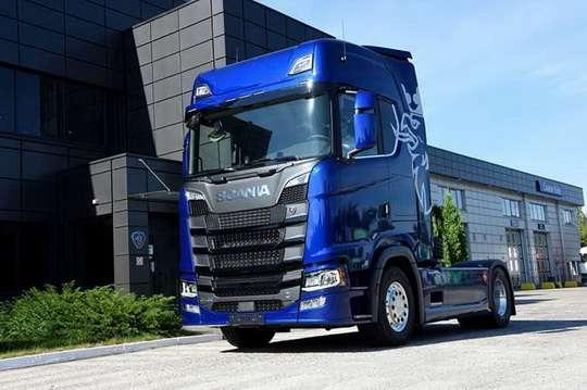В Украине появился первый грузовик Scania пятого поколения
