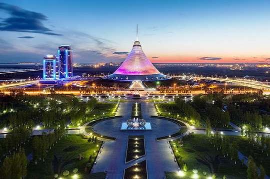 Как выглядит Хан-Шатыр, самый большой шатер в мире. Фото и видео