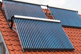 Как самостоятельно установить вакуумный солнечный коллектор