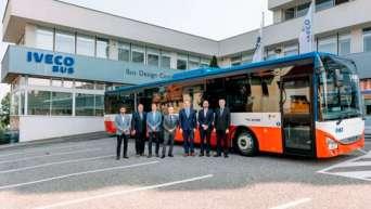 На дороги Европы вышел юбилейный сорокатысячный автобус IVECO