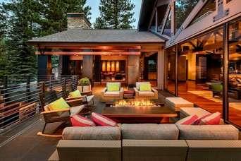 Самые красивые террасы и веранды для частных домов. Фото