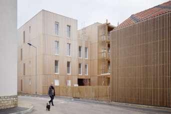 Общественные здания будут наполовину состоять из природных материалов