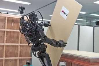Роботов научили устанавливать гипсокартон